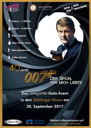 """40 Jahre """"Der Spion der mich Liebte"""" in Böblingen @ Filmzentrum Bären"""