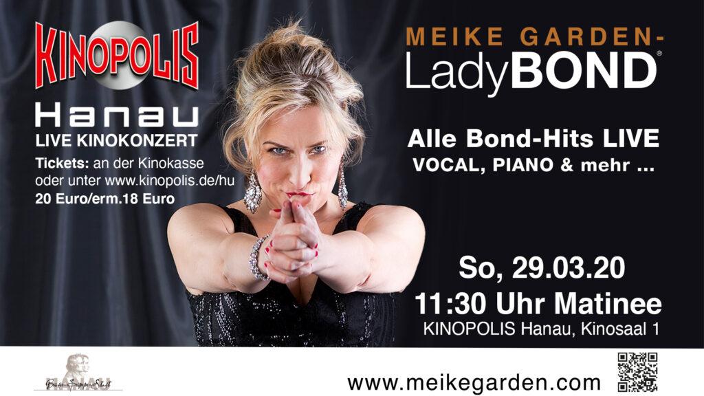 Kinomatinee LadyBond *fällt aus* @ Kinopolis Hanau